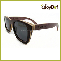 China custom made sunglasses factory bamboo and wood sun glasses