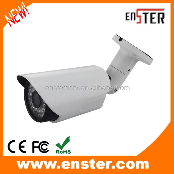 Enster Analogue CCTV camera EST-W7555 auto iris lens waterproof 700tvl sony cmos sensor bullet Camera