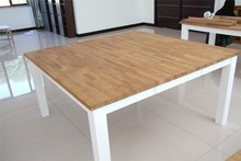 4 seater oak wood dinner table designs square dining table