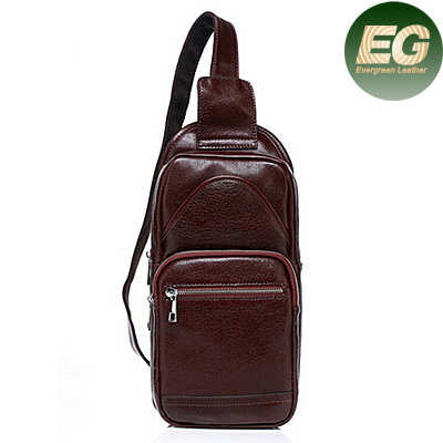 trendy man bag leather messenger bag mens leather bag fashion M3092