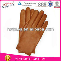 Lady glove / Winter leather glove /Custom fit leather glove