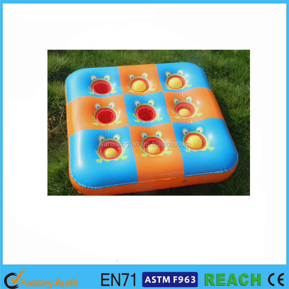 2016 factory price non-pathalate PVC floating drink holder for pool PVC inflatable drink cooler products