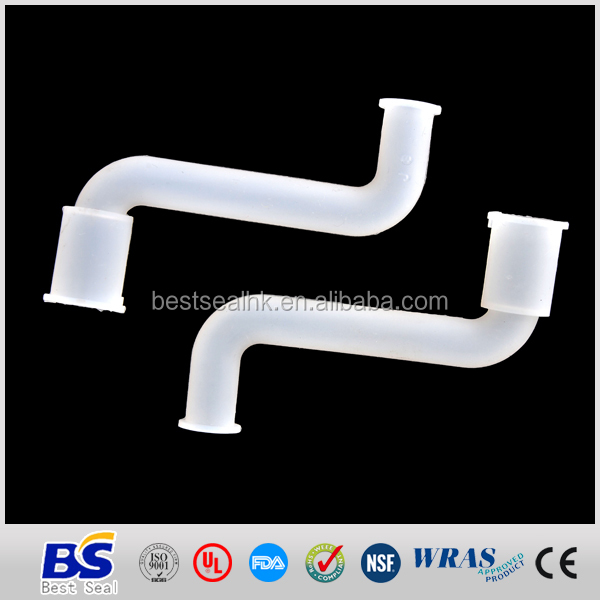 FDA UL Reach DVGW 90 degree rubber tube