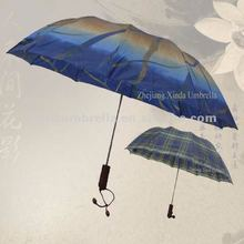 Large 2 Fold Umbrella for Rain