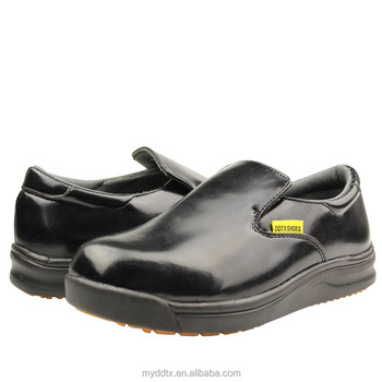 Slip and oil resistant professional catering chef shoes