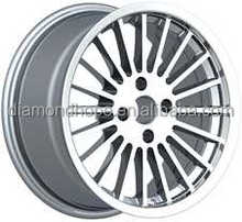 New design White Smart Alloy wheels Rims for car 13 inch 16 inch (ZW-P548)
