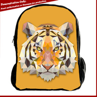 Wholesale OEM custom canvas school backpack bags