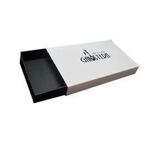 luxury custom paper drawer box wallet gift packing box