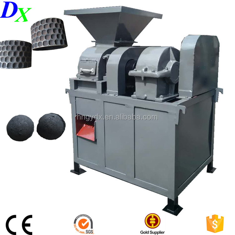 Low price roller press coal ball briquetting machine