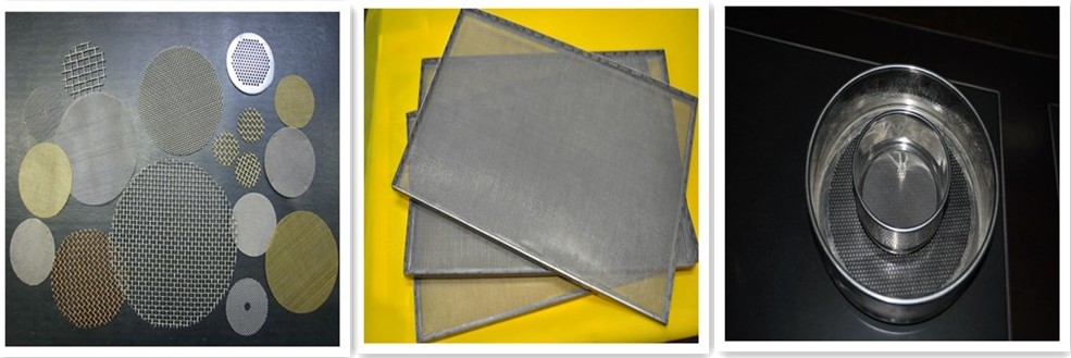 SUS 316 Grade Stainless Steel Wire Cloth Netting Filtering/Sieve /Screen Printing