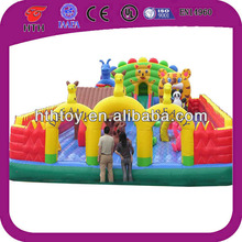 Attractive cheap the fairy tale inflatable fun city