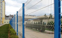 Galvanized Welded Wire Mesh Fence Panel 4.8mm 2.5x2m