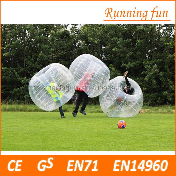 Promotion PVC/TPU Inflatable human balloon,human inflatable bumper bubble ball,bumper ball for sport games