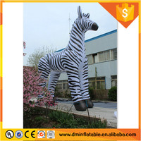 7m high giant inflatable Zebra for model for sale C-319