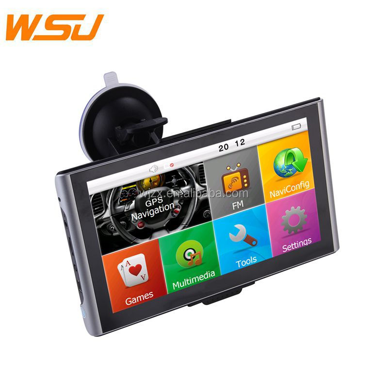 Good Price Touch Screen 7inch SAT Navigation Maps with Bluetooth Car GPS