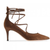 Daily Office Elegant Brown Low Heel