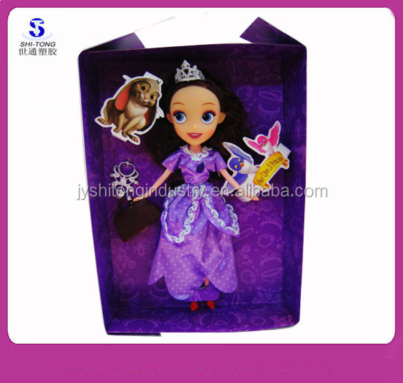 10 inch Fashion Movie Plastic Barbie Pretty Girl Doll Set Toy