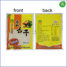 Hot sale Luxury resealable frozen plastic bag for frozen chicken strips / breast packaging