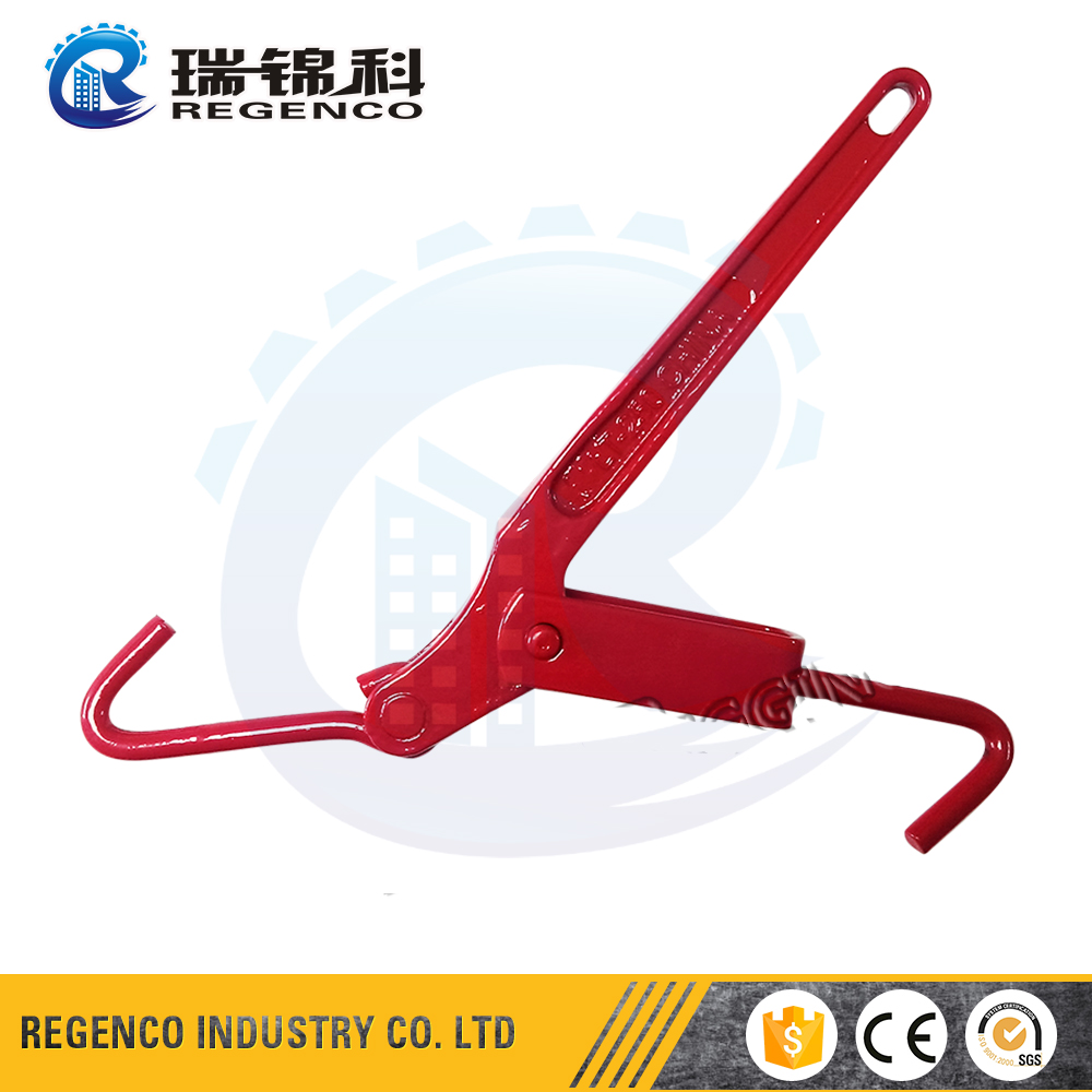 Painted Red Forged Lever Type Mini Load Binder Lt Load Binder