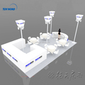 Detian Offer Modular Design 20x30ft Trade Show Stand Portable Exhibition Booth
