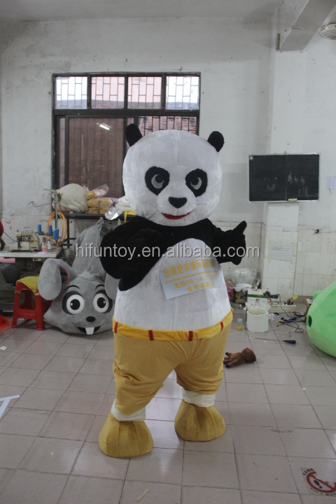 Funtoys CE funny Kungfu Panda cartoon mascot costumes