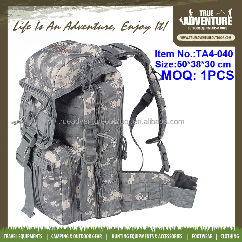 Outdoor Tactical Backpack Military Trolley Rucksack for Hunting Camping Hiking and Trekking Waterproof 55L