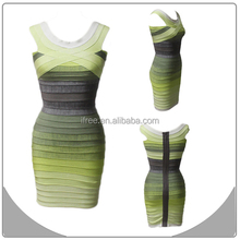 newest sexy ladies party ombre fashion off shoulder bandage gala evening dress for rent kuala lumpur