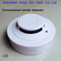 Hot Sale 2 cable Fire Smoke detector AJ-705