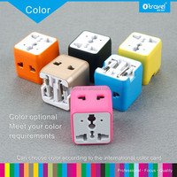 Quality mini pocket portable universal travel charger and power adapter extension sockets