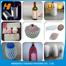 New Products Fruit And Wine Bottle Plastic Packing Epe Foam Net