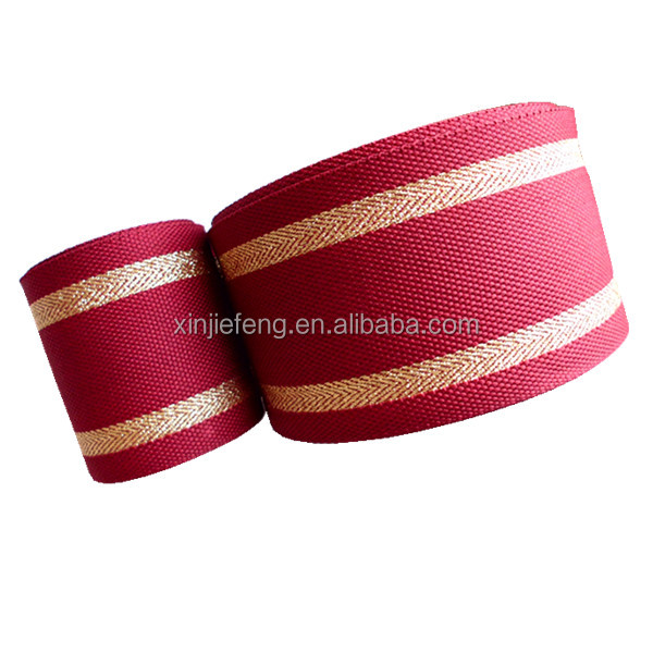 50mm wide cotton ribbon
