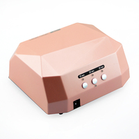 small order can be accepted 36w uv nail lamp compact design uv lamp nail dryer
