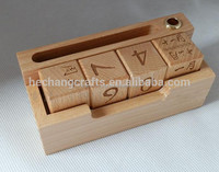 Customed Wooden Calendar for Home Decoration
