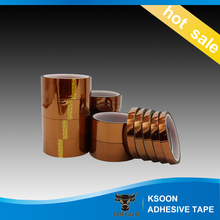 Heat Insulation Polyimide Silicone Adhesive Polyimide Tape with Silicone Adhesive for High Temperature Masking