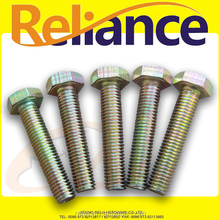Grade 4.8 Color Zinc Plated Hex Cap Screw Full Threaded