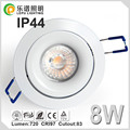 Specialized for Europe Market 83mm Cutout led downlight Dimmable IP44