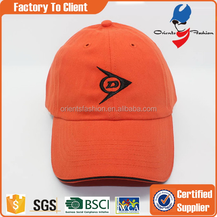 Durable hot sale flowers dyed baseball cap