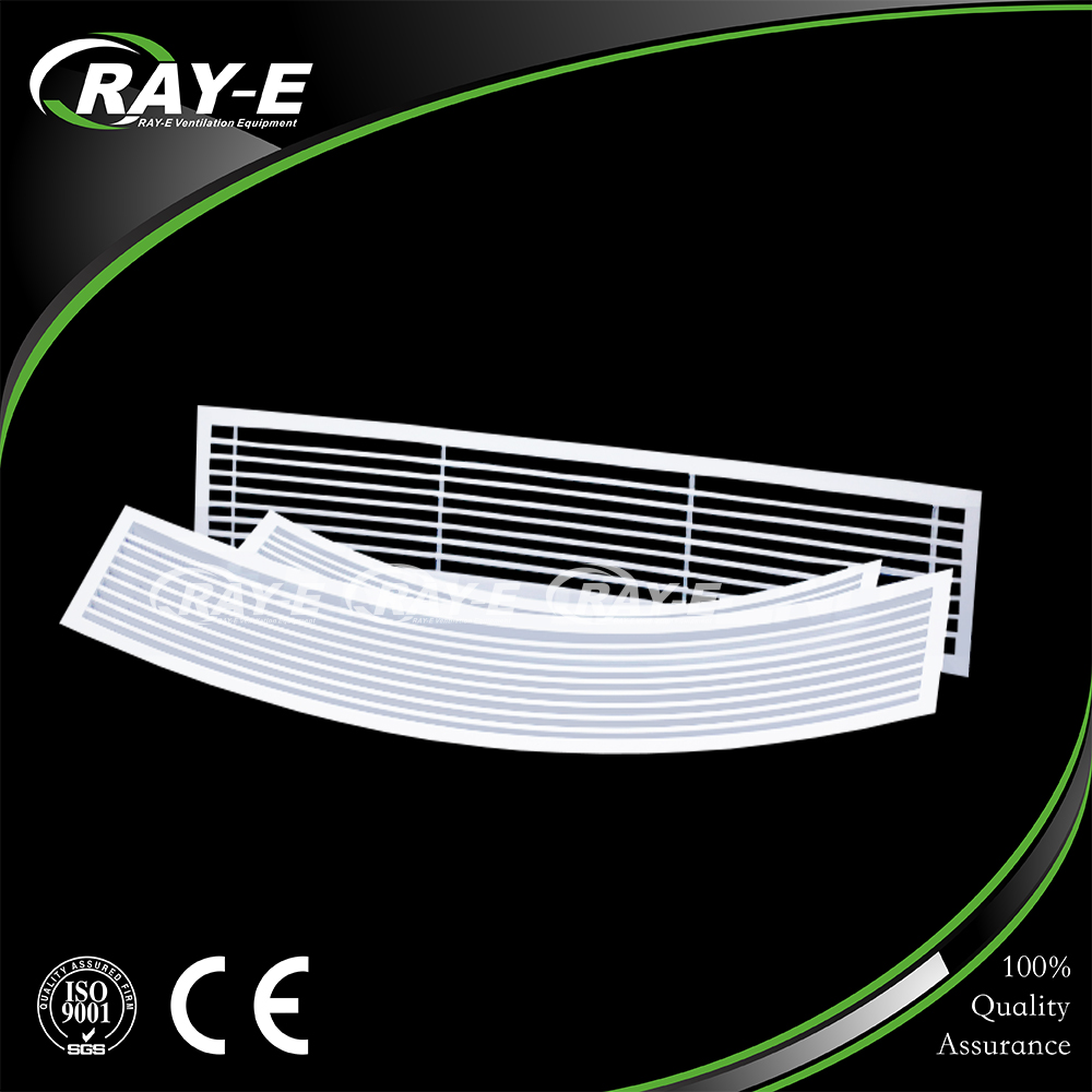 aluminum ceiling decorative return air vent intakes linear bar ventilation grille