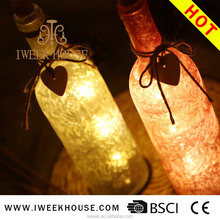 LED candles/colored wine bottle romantic flameless LED candle