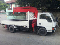 Canter 5 section boom truck