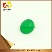 oval cabochon dark green agate by our big store rough for jewelry necklace wholesale price