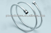 White pvc plastic flexible shower hose