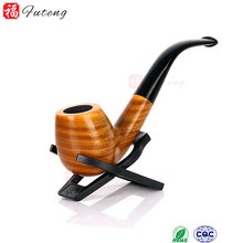 Smoking Set Sandalwood Design Green Fancy Wood Smoking Pipe