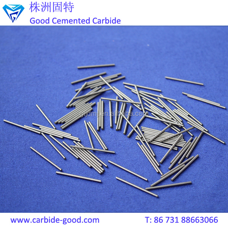 Zhuzhou Manufacturer Supply Various Sizes Solid Carbide Round Bar For Tool Parts