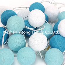 Bulk buy Christmas warm white led Cotton Balls lights from china