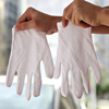 c16# Gloves work cotton, spandex gloves plain, working safety gloves