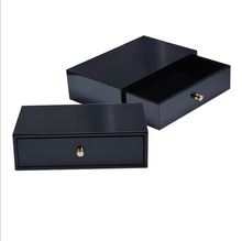 Chinese factories wholesale custom perfume boxes, fashionable and beautiful wooden jewelry box, draw out the gift box