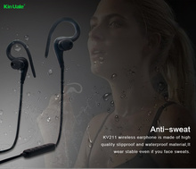 New design sports wireless bluetooth earbuds,stereo necklace earphone