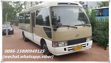 used japan made toyota coaster bus