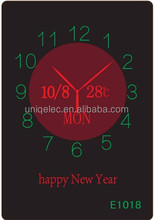 digital calendar large indoor digital clock electronic digital wall clock